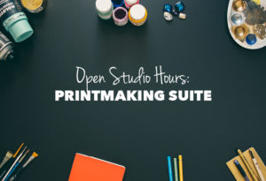 Open Studio Hours-Printmaking Suite @ Hardesty Arts Center | Tulsa | Oklahoma | United States